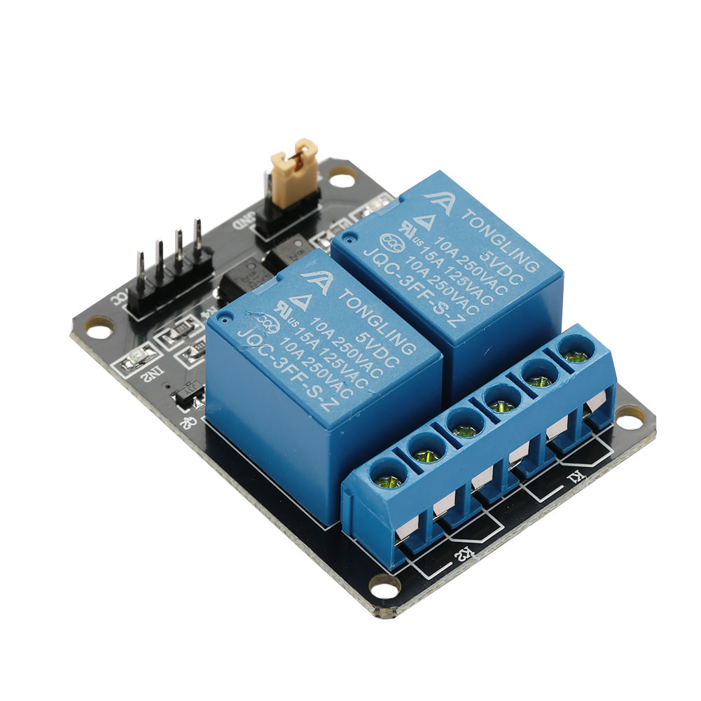 Buy Generic New 1pcs 5v 2 Channel Relay Module Shield Board For Interfacing With 8051 Microcontroller Circuit This Is A Interface Be Able To Control Various Appliances And Other Equipments Large Current It Can Controlled Directly