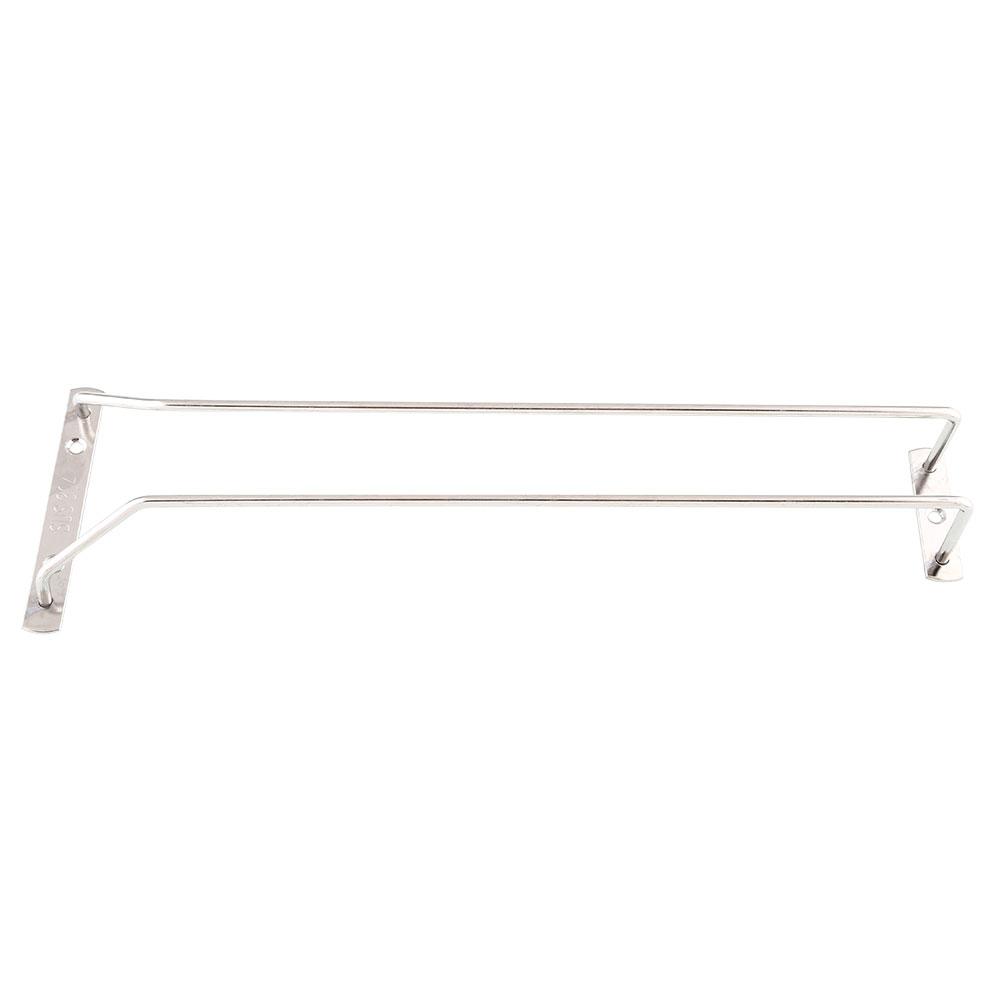 "35cm/13"" Wine Glass Cup Rack Under Cabinet Stemware Holder Hanger Shelf"