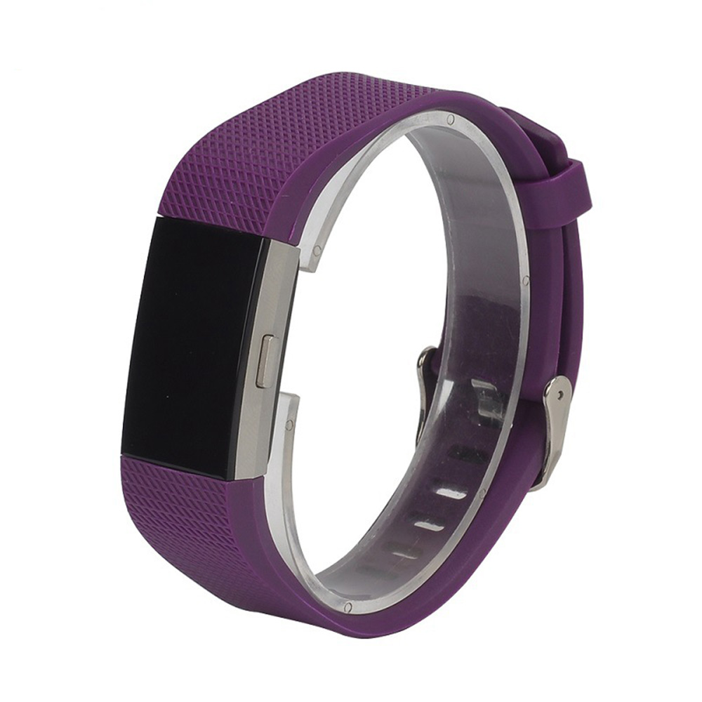 replacement silicone gel band strap bracelet wristband for fitbit charge 2 sport ebay. Black Bedroom Furniture Sets. Home Design Ideas