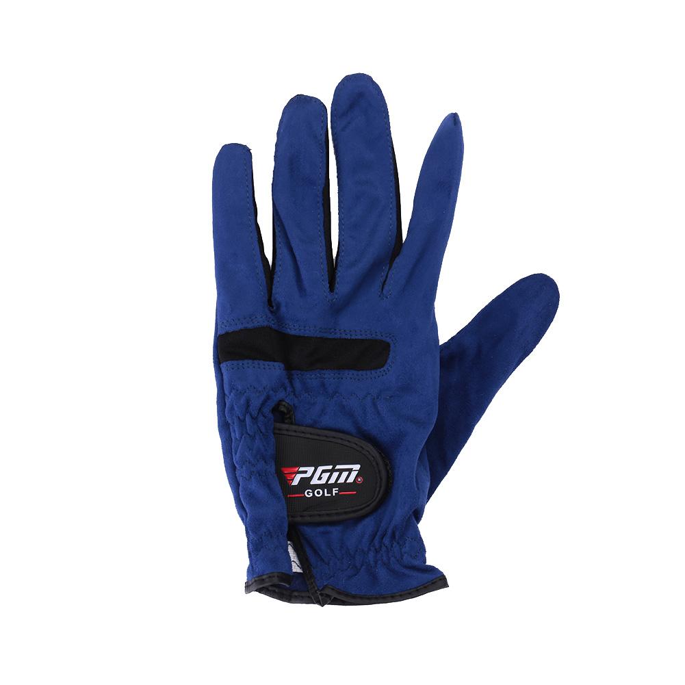 0637-Soft-Blue-Microfiber-Fabric-Anti-skidding-Golf-Gloves-Durable-Universal