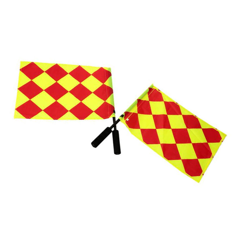 The World Cup Soccer Referee Flag Match Football Competition Equipment 40A0